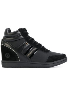 Versace concealed wedge sneakers
