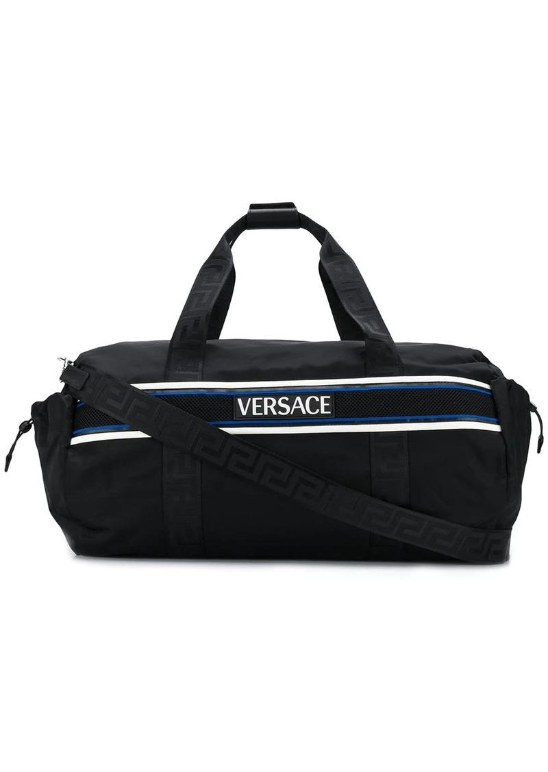 Versace contrast logo holdall