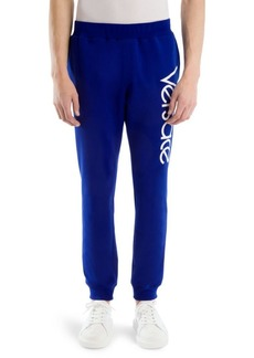 Versace Cotton Logo Sweatpants