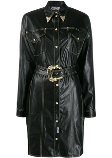 Versace cowboy shirt dress