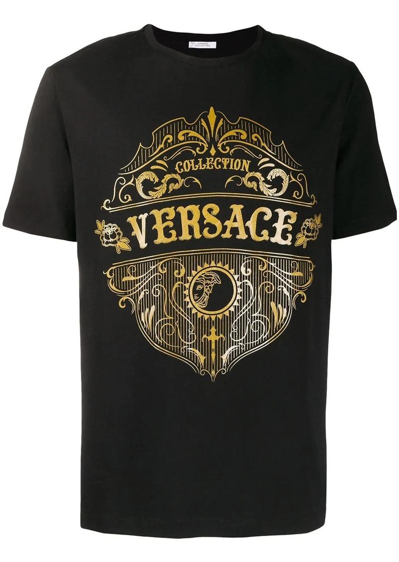 Versace crew neck logo T-shirt
