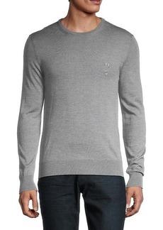 Versace Crewneck Wool Sweater