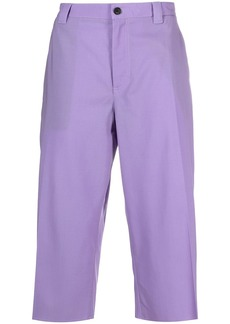 Versace cropped chino trousers