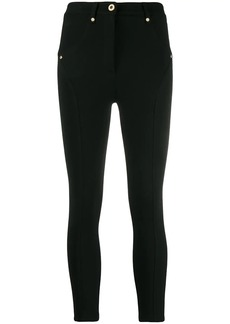 Versace cropped leggings
