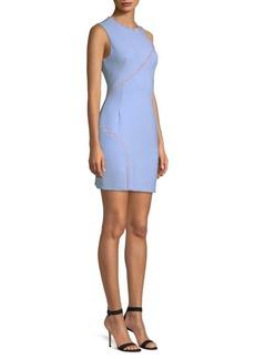 Versace Crystal Embellished Cady Dress
