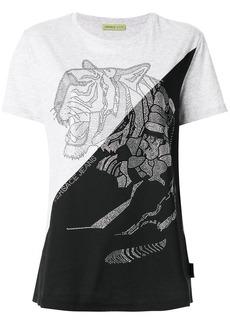 Versace crystal tiger T-shirt