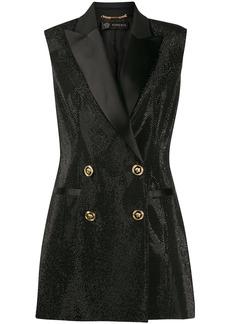 Versace Crystal Tuxedo waistcoat