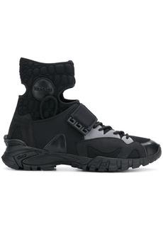 Versace cutout sneakers