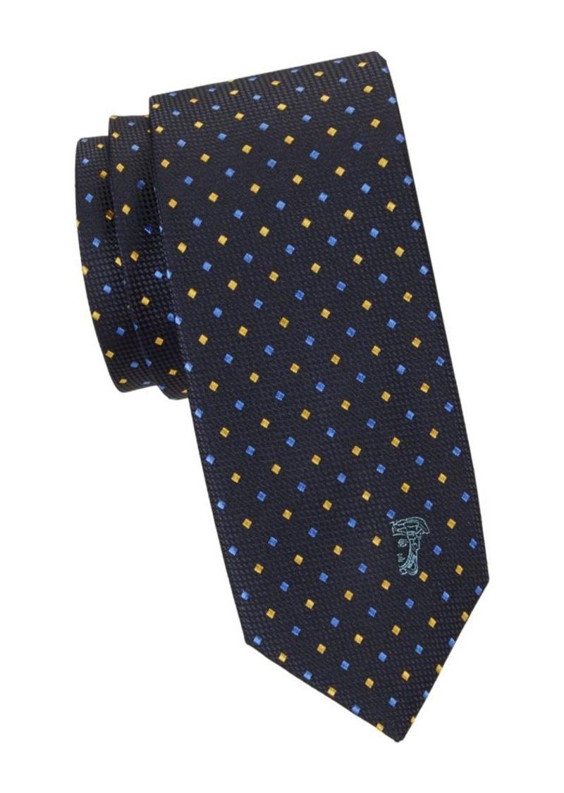 Versace Diamond Silk Tie