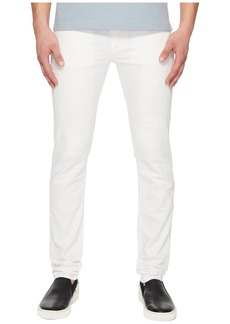 Versace Distressed Jeans in White