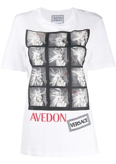 Versace Donatella Avedon print T-shirt