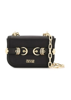 Versace double buckle crossbody bag
