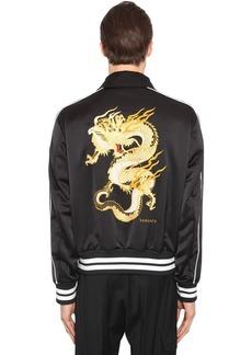 Versace Dragon Tech Varsity Jacket