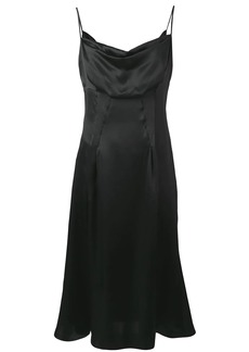 Versace draped dress
