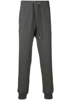Versace drawstring fitted trousers