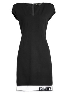 Versace Dress with Wool
