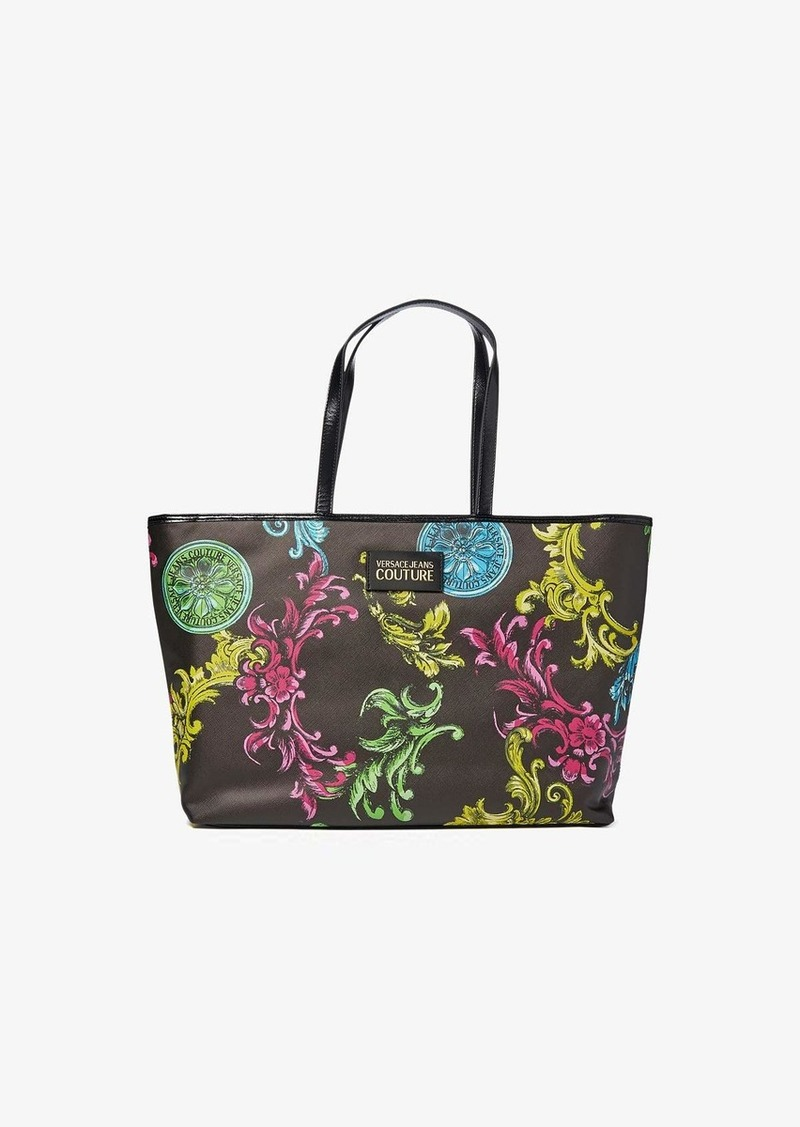 Versace Eco Baroque Print Shopper