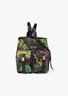 Versace Eco Leather Baroque Print Backpack