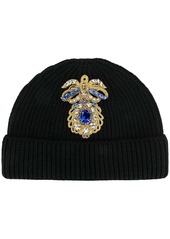 Versace embellished beanie
