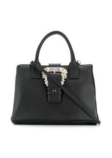 Versace embellished buckle tote bag