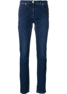 Versace embellished Medusa jeans