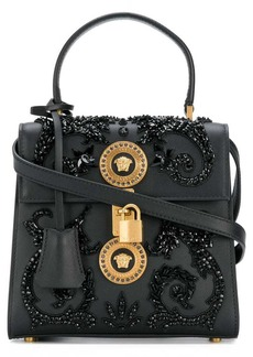 Versace embellished Medusa shoulder bag