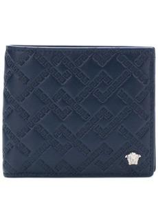 Versace embossed Grecca wallet
