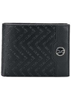 Versace embossed wallet