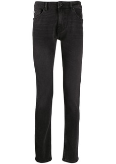 Versace embroidered logo skinny jeans