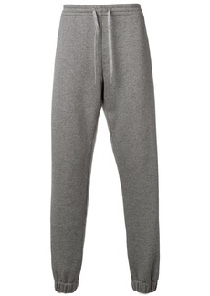Versace embroidered logo track trousers
