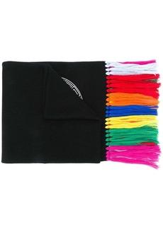 Versace embroidered Medusa head scarf