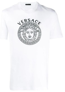 Versace embroidered Medusa head T-shirt