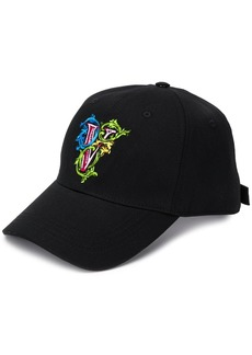 Versace embroidered V baseball cap