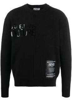 Versace Etichetta patch relaxed-fit jumper