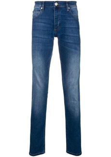 Versace faded slim fit jeans