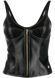 Versace fitted style vest top