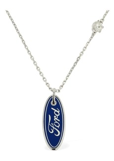 Versace Ford Logo Necklace
