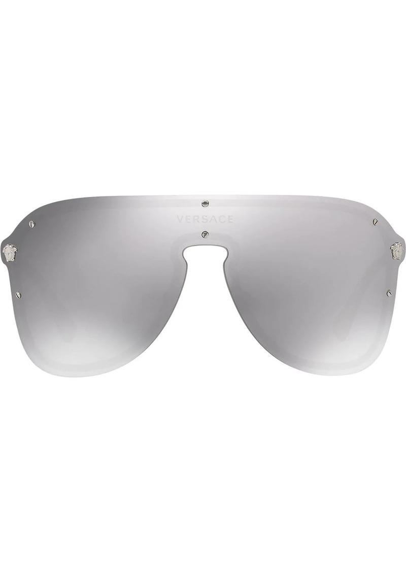 Versace #Frenergy visor sunglasses