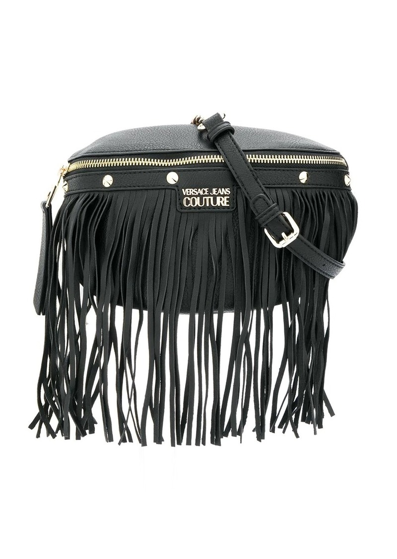 Versace fringe detail belt bag