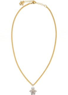 Versace Gold & Silver Medusa Necklace