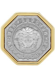 Versace Gold & Silver Medusa Ring