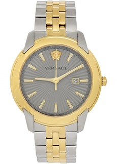 Versace Gold & Silver V-Urban Watch