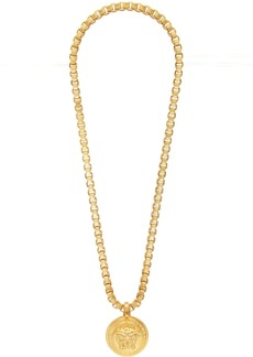 Versace Gold Chain Medusa Necklace