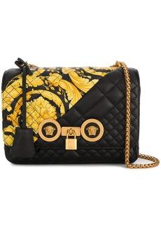 Versace Gold Hibiscus Icon bag