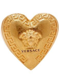 Versace Gold Love Medusa Signet Ring