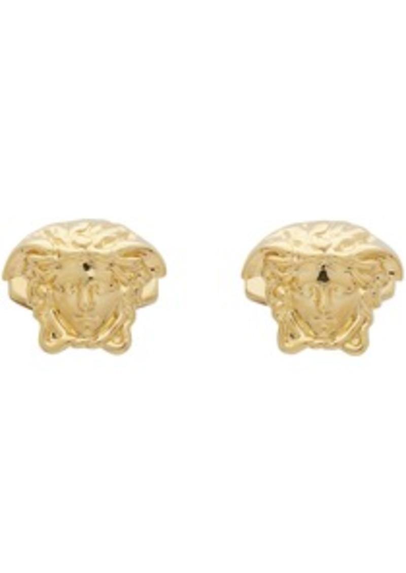 Versace Gold Medusa Cufflinks