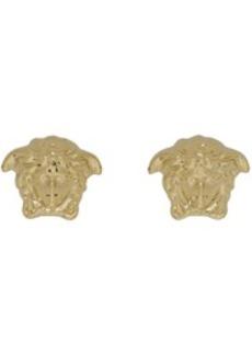 Versace Gold Medusa Stud Earrings