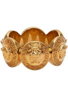Versace Gold Medusa Tribute Ring