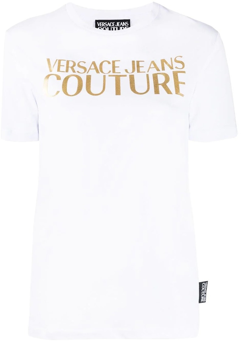 Versace gold-tone decal T-shirt