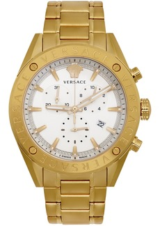 Versace Gold V-Chrono Watch